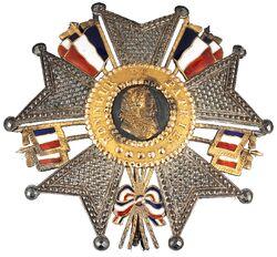 Légion d'honneur Grand officier Plaque période Louis-Philippe