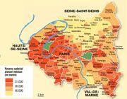 Revenus à Paris et Petite Couronne