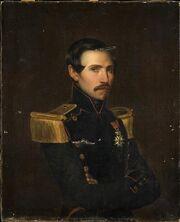 T.-F. Jourjon - Portrait de Charles Louis Jourjon, capitaine du génie