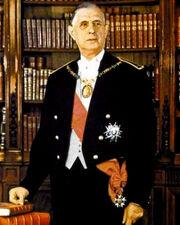 Charles de Gaulle - Portrait officiel