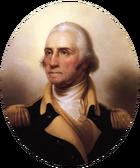 Portrait of George Washington-transparent