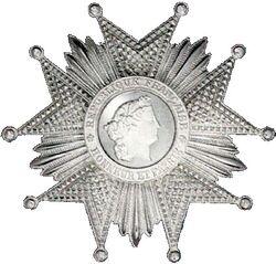 Légion d'honneur Grand officier Plaque