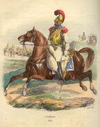 Napoleon Carabiner of 1812 by Bellange