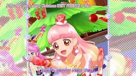 アイカツフレンズ!ミュージックビデオ『We wish you a merry Christmas BEST FRIENDS! Ver