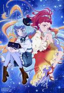 Aikatsu Friends! Poster Animedia June 2019