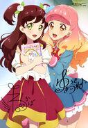 Aikatsu Friends! Poster Animedia May 2019