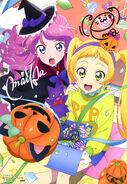 Aikatsu Friends! Poster Animedia October 2018