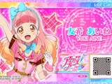 Data Carddass Aikatsu Friends! Idol Cards