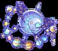 Sky universe jewel