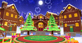 We wish you a merry Christmas BEST FRIENDS! version Stage