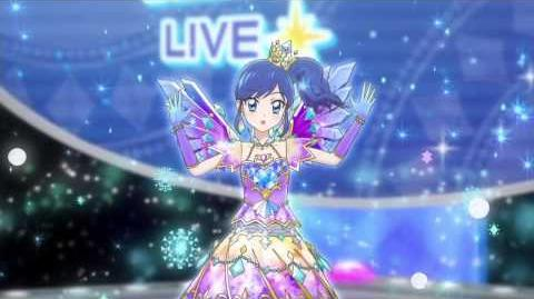 Aikatsu Episode71 「prism spiral」 Kiriya Aoi アイカツ! 霧矢あおい