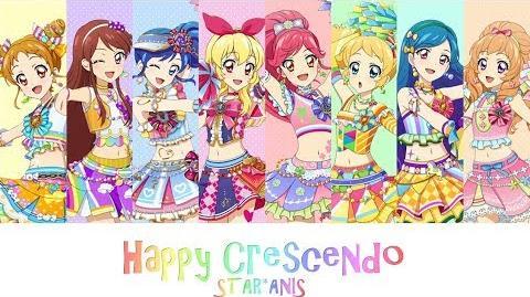 Happy Crescendo - Color-Coded Lyrics - Aikatsu!
