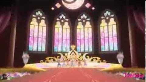 (HQ) Aikatsu! - All 7 Girls - Moonlight Destiny (episode 49)