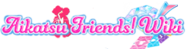 Aikatsu-friends-wiki wordmark