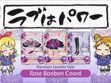 Rose Bonbon Coordination