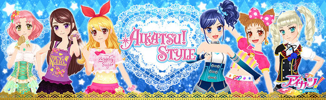 Apparel aikatsutop head
