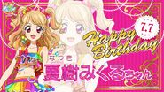 Happy Brithday Mikuru Aikatsu on Japan Tour 2017