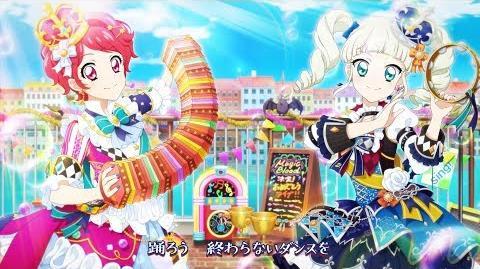【アイカツ!フォトonステージ!!】オリジナル新曲「月夜のラグタイム」プロモーションムービー(フォトカツ!)