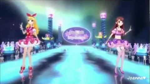 Aikatsu! - Shibuki Ran & Hoshimiya Ichigo - Performance (episode 5 )