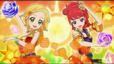 (HD)Aikatsu! -「Chica×Chica」(Episode 137) アイカツ Ep 137 紅林 珠璃 新条ひなき