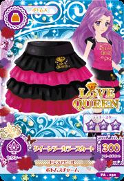 Love queen falda