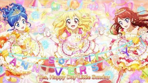 【アイカツ!フォトonステージ!!】オリジナル新曲ソレイユ「Sunny Day Little Sunday」プロモーションムービー(フォトカツ!)