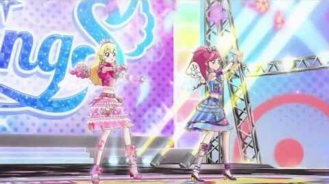 (HD)Aikatsu!- 2wingS- Friend - Episode 100