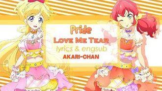 LYRICS & ENGSUB Pride - Aikatsu Friends!