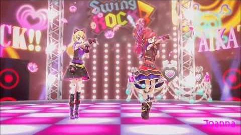 (HD) Aikatsu! SEASON 2 - Ichigo & Seira - AIDORU KATSUDO - Rock ver. (episode 3)