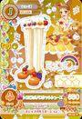 Card zapatos naraanja frutal