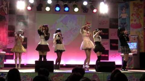 テレビアニメ「アイカツ!」エンディングテーマ「カレンダーガール」6人 (Calender Girl)