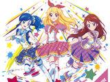 Аниме Айкацу! Новая открывающая и закрывающая тема 2 сезона - Сила☆БЛЕСКА/Оригинальная Звезда☆彡