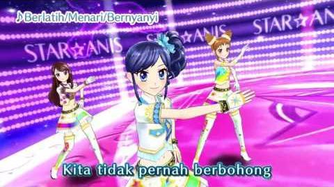 "Aikatsu! Music Video ""Berlatih Menari Bernyanyi"" ♪"