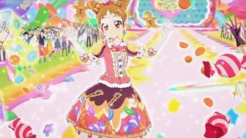 (HD)Aikatsu!-Otome&Sakura&Kaede-Ponytail After School (Episode 60)