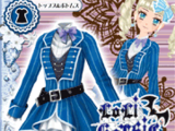 Blue Trench Coord