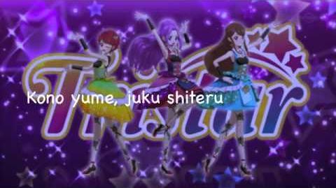 Aikatsu - Tristar Take Me Higher Lyrics (Romaji)