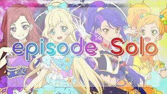 FULL LYRICS Aikatsu Stars! - S4 - episode Solo