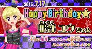 Bnr yuu-birthday2015