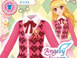 Pink Argyle Coord