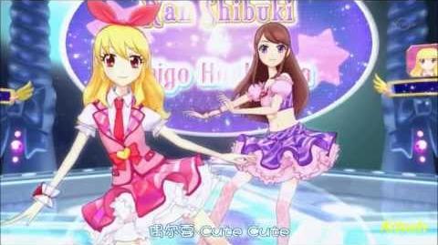 【HD】Aikatsu! - episode 05 - Ichigo & Ran - prism spiral【中文字幕】