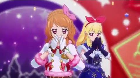 (HD)Aikatsu!-Luminas&Ichigo&Mizuki&Juri-Hello! Winter Love♪ (Episode 165)