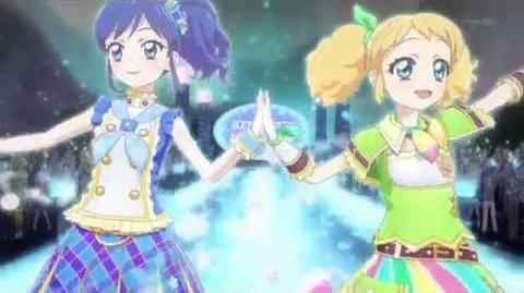 Aktifitas Idol! - Rahasia Cinta (☆Kī Saegusa & Aoi Kiriya ♪Prism Spiral)