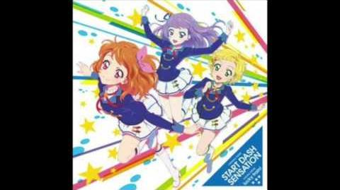 Aikatsu Lucky Train off vocal