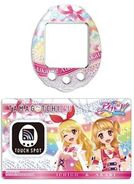 Tamagotchi 4U - Aikatsu Face Plate and TOUCH Card