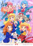 Aikatsu on Parade Illustrations