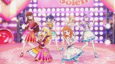 1080p Aikatsu! ~ Soleil & Luminas - Calendar Girl (Episode 178 End Tamat)