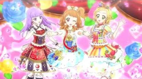 (HD)Aikatsu!-Hinaki&Akari&Sumire-Hello! Winter Love♫ (Episode 114)