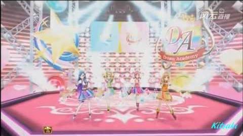 Aikatsu! - episode 72 - Seira & Kii & Sora & Maria - ハッピィクしッツェソド - with changing