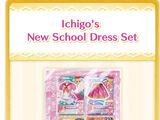 Ichigo's New School Dress Set
