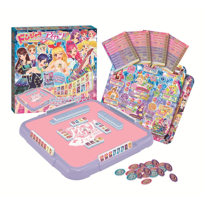Donjara Aikatsu! (ドンジャラ アイカツ!, Donjara Aikatsu!) is a board game by Bandai.  It is a mahjong game themed around the Data Carddass Aikatsu! ...